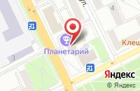 Схема проезда до компании Арт-Депо в Жуковском