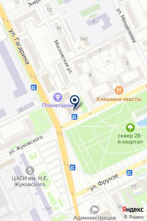 АУДИТОРСКАЯ ФИРМА АУДИТ-ПРЕМЬЕР на карте Жуковского