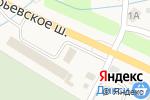 Схема проезда до компании Осеченки в Осеченках