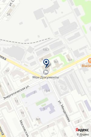 ЖУКОВСКАЯ САУНА на карте Жуковского