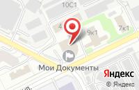 Схема проезда до компании My Apple Сenter в Жуковском