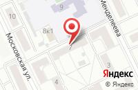 Схема проезда до компании Консультационный Центр Летной Школы Испытателей в Жуковском