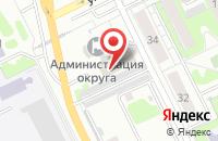 Схема проезда до компании КПРФ в Жуковском