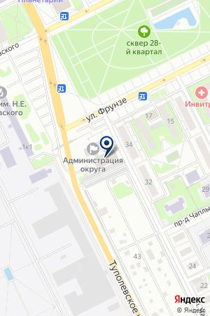 МУНИЦАЛЬНОЕ ОБРАЗОВАНИЕ Г. ЖУКОВСКОГО на карте Жуковского