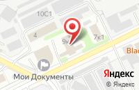 Схема проезда до компании Магия в Жуковском