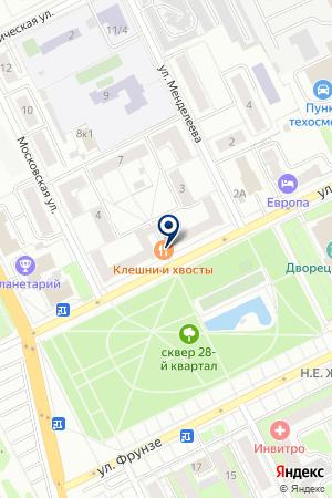 ГЛУЩЕНКО Н.П. на карте Жуковского