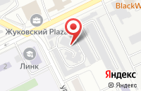 Схема проезда до компании Автохирург в Жуковском