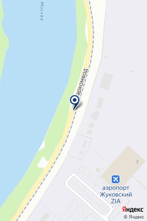 АВИАЦИОННЫЙ ЦЕНТР ИМ. В.М. МЯСИЩЕВА на карте Жуковского