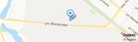 Силур ЧАО производственное объединение на карте Харцызска