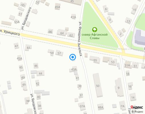 Управляющая компания «Сервис» на карте Богородицка