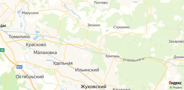 Осеченки на карте