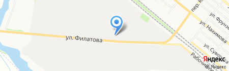 Энерго на карте Харцызска