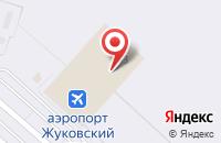Схема проезда до компании МТС в Жуковском