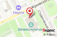 Схема проезда до компании Дворец культуры в Жуковском