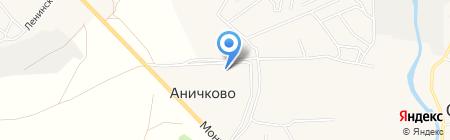 Планета Уюта на карте Аничкова