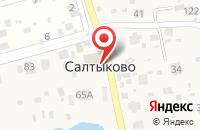 Схема проезда до компании Храм успения Божией Матери в Салтыково в Нестерово