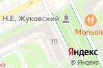Схема проезда до компании Мультипроцессинг КИТ в Жуковском