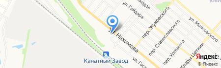 АЗС PILOT на карте Харцызска