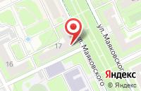 Схема проезда до компании Четыре ступени в Жуковском