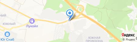 Мегарусс-Д на карте Геленджика