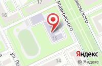 Схема проезда до компании Средняя общеобразовательная школа №2 в Жуковском