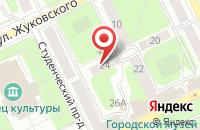 Схема проезда до компании Илана в Заворово