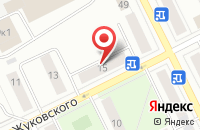 Схема проезда до компании Стройтехсервис в Заворово