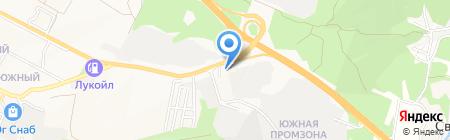 Курортстрой на карте Геленджика