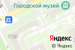 Схема проезда до компании Скора в Жуковском