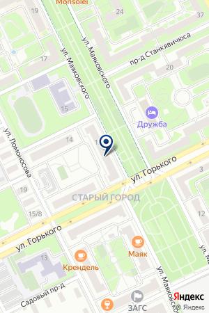 ЖУКОВСКАЯ СТОМАТОЛОГИЧЕСКАЯ ПОЛИКЛИНИКА на карте Жуковского