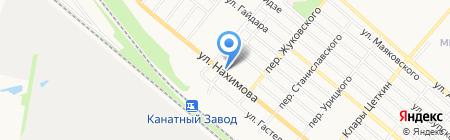 Вояж на карте Харцызска