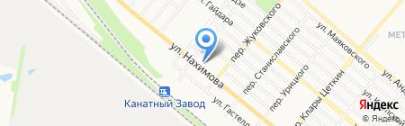 Клондайк на карте Харцызска