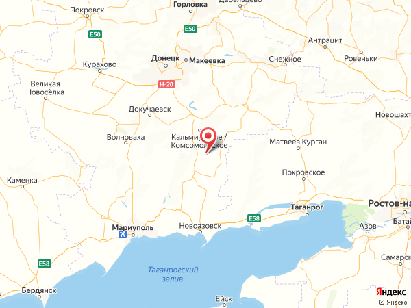 село Краснополье на карте