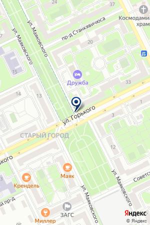 КОМФОРТ ОКОН на карте Жуковского