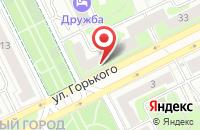 Схема проезда до компании ТРЕСТ в Жуковском