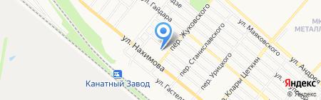 Магазин промышленных товаров на карте Харцызска