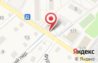 Схема проезда до компании Берёзка в Ильинском