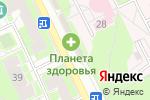 Схема проезда до компании Ермолино в Жуковском