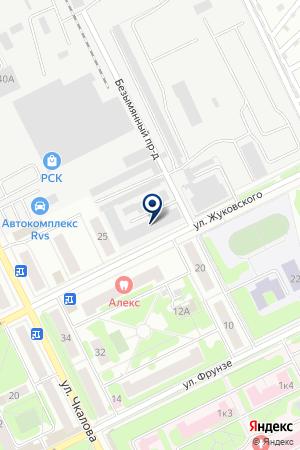ЖУКОВСКАЯ ЭЛЕКТРОСЕТЬ на карте Жуковского