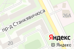Схема проезда до компании Легенда в Жуковском