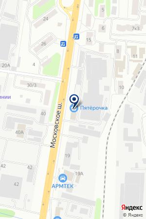 СЕРГИЕВО-ПОСАДСКИЙ МАШИНОСТРОИТЕЛЬНЫЙ ЗАВОД на карте Сергиева Посада