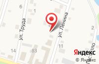 Схема проезда до компании Почтовое отделение №360 в Троицкой