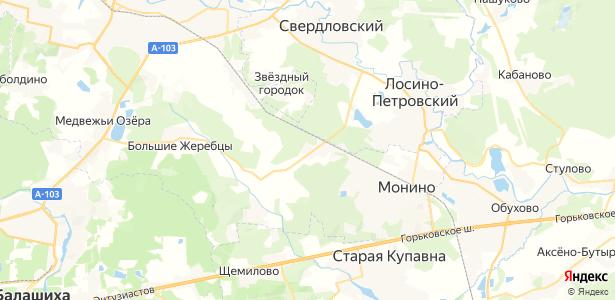 Соколово на карте