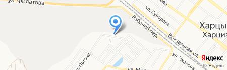 Детский сад №16 на карте Харцызска
