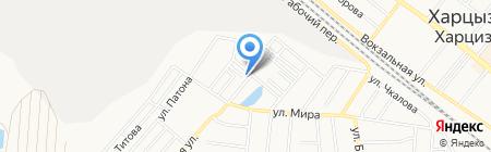 ОЩАДБАНК ПАО на карте Харцызска