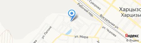 Феникс на карте Харцызска