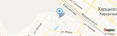 Березка на карте Харцызска