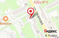 Схема проезда до компании Золотая кошка в Жуковском