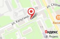 Схема проезда до компании Водоканал в Заворово