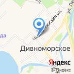 Акрополь на карте Новороссийска